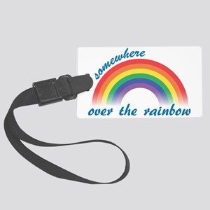rainbow Large Luggage Tag