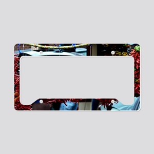 Peppers License Plate Holder