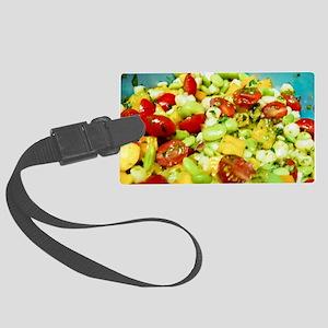 Hominy Salad Large Luggage Tag