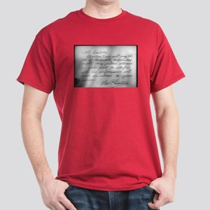 Phantom Note to Carlotta Dark T-Shirt