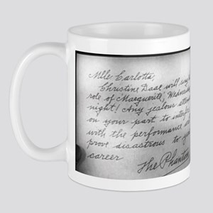 Phantom Note to Carlotta Mug