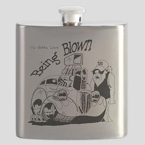 being blown Flask