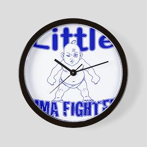 LittleMMAbaby_Blue Wall Clock