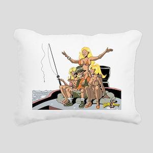 3_women_worm Rectangular Canvas Pillow
