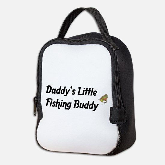 3-fishingbuddy.png Neoprene Lunch Bag