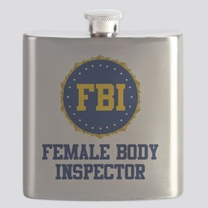 FBI Female Body Inspector Flask
