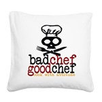 BCGC Logo 5.0 Square Canvas Pillow