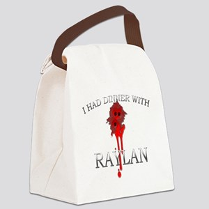 Raylan Canvas Lunch Bag
