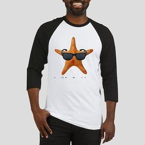PCStarfishBIGBlack Baseball Jersey