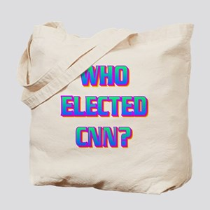WHO ELECTED CNN(white) Tote Bag