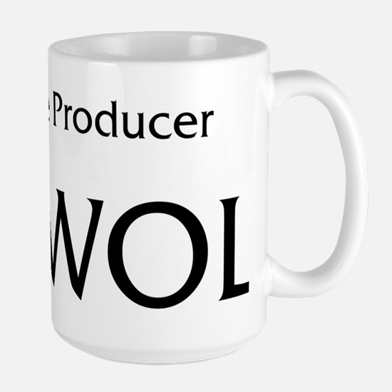 DICKWOLF Black Large Mug