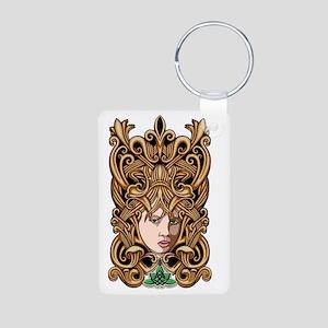 celtic princess3 Aluminum Photo Keychain