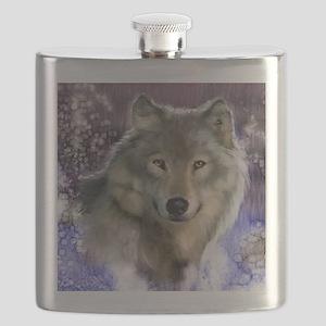 wolf 12x9 Flask