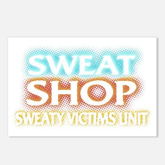 SWEATSHOP: SWEATY VICTIMS Postcards (Package of 8)