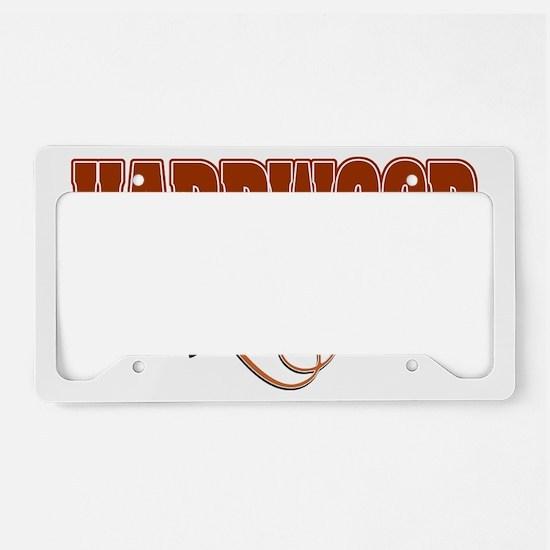 hardwood License Plate Holder