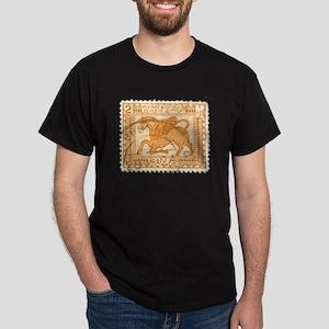 Iraq Stamp Dark T-Shirt