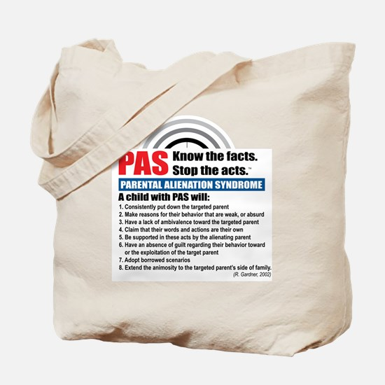 PAS-know facts Tote Bag