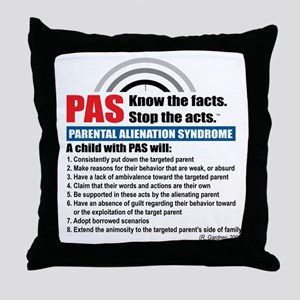 PAS-know facts Throw Pillow