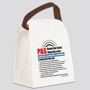PAS-know facts Canvas Lunch Bag