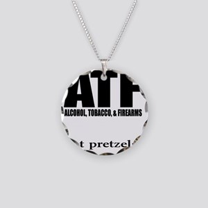 ATFwite Necklace Circle Charm