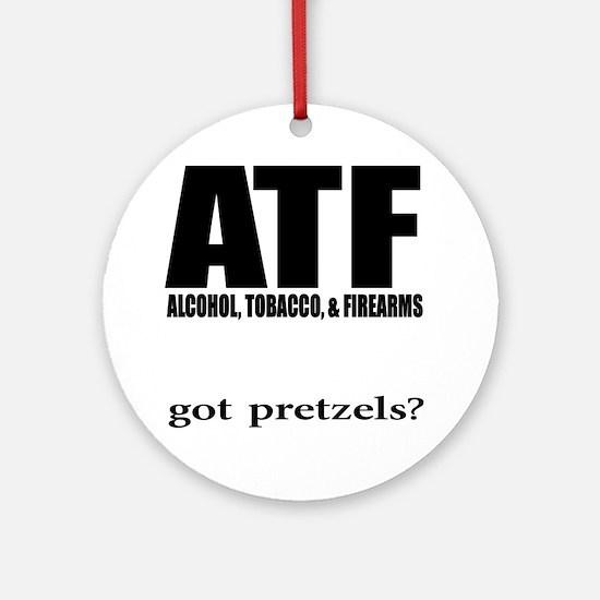 ATFwite Round Ornament