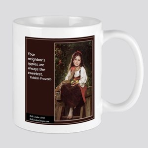 Famous Yiddish Saying Mugs