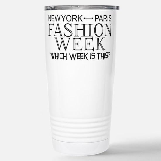 Fashion Week, New York or Paris? Mugs