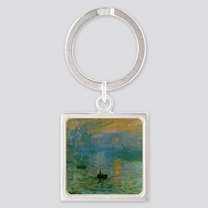 Impression, Sunrise Square Keychain
