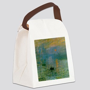 Impression, Sunrise Canvas Lunch Bag
