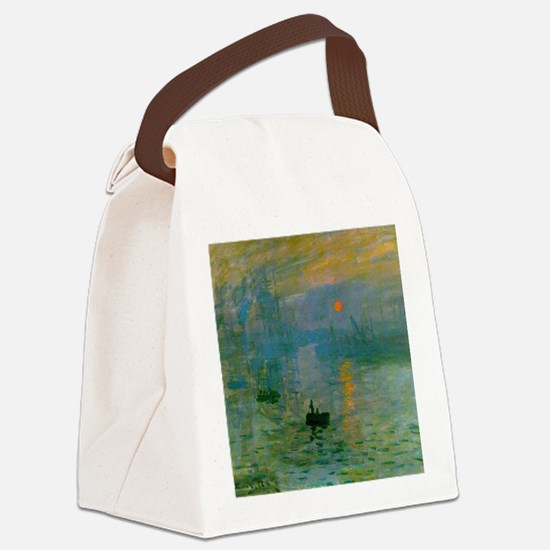 Impression, Sunrise Canvas Lunch Bag