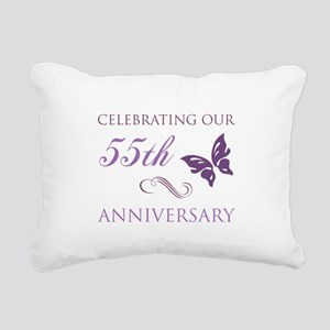 55th Wedding Aniversary (Butterfly) Rectangular Ca