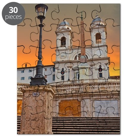 The Spanish Steps Puzzle