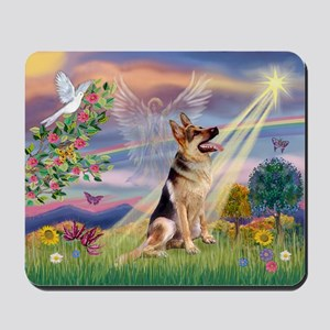 Cloud Angel & G-Shepherd Mousepad