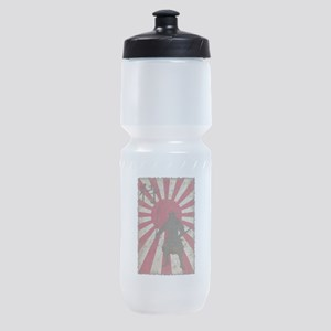 Vintage Samurai Sports Bottle