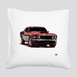 69fastback Square Canvas Pillow