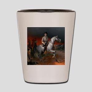 Robert E Lee Gettysburg Shot Glass