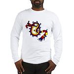 featheredserplrg Long Sleeve T-Shirt