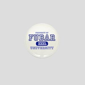 Fubar University Mini Button