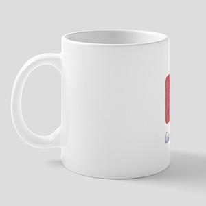 FIN-boxer-pawprints Mug