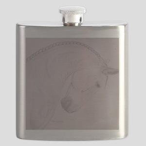 Blue Steel Flask