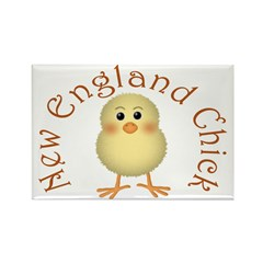 New England Chick Rectangle Magnet (10 pack)