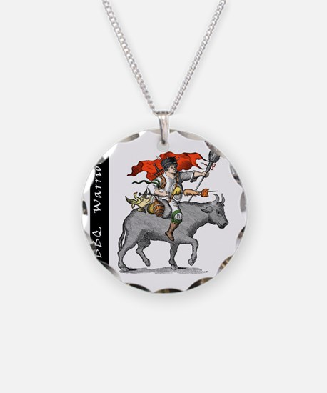 BBQ WarriorReverse - Reduced Necklace