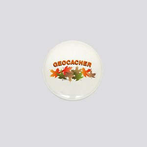 Autumn Geocacher Mini Button