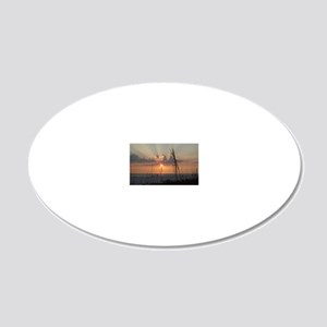 1000150 20x12 Oval Wall Decal