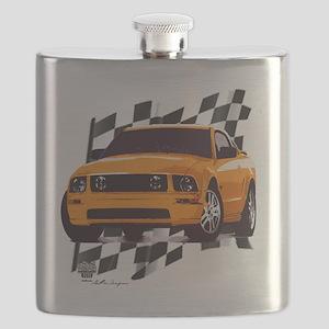 2006orange Flask