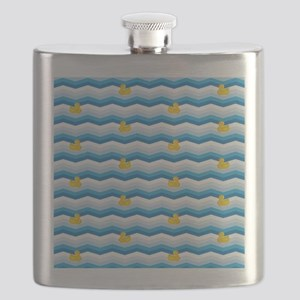 Duck Duck Duck Pattern Flask
