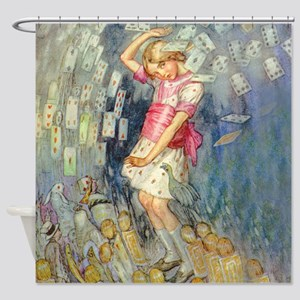 ALICE_JACKSON_031_SQ Shower Curtain