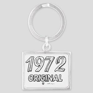 1972txt Landscape Keychain
