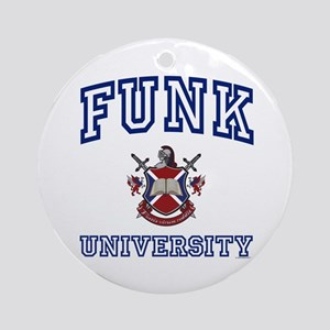 FUNK University Ornament (Round)