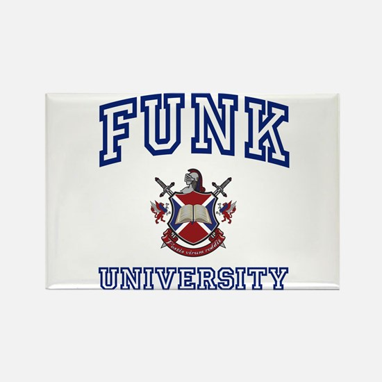 FUNK University Rectangle Magnet